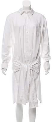 Alexander Wang Button-Up Shirt Dress