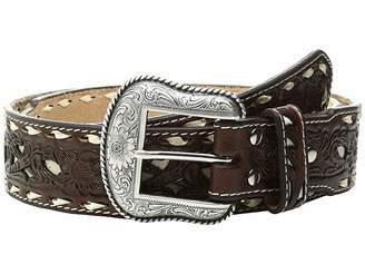 M&F Western Ivory Lace Stitched Belt