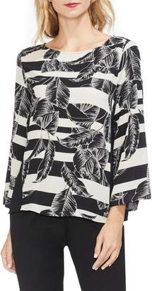 Vince Camuto Tropical Shadows Blouse