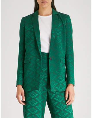 Sandro Floral jacquard jacket