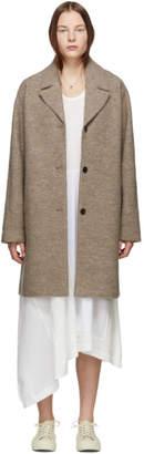 YMC Beige Wool Heroes Coat