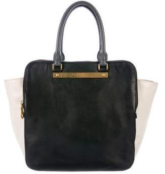 Marc by Marc Jacobs Bi-Color Leather Satchel