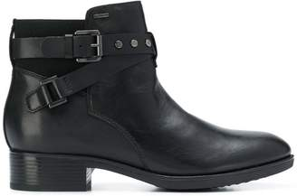 Geox ankle strap boots