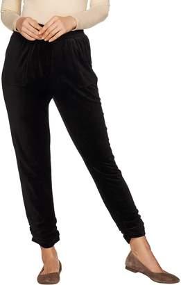 Lush Laurie Felt Velour Jogger Pants with Pockets