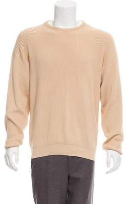 Malo Rib Knit Crew Neck Sweater