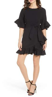 1 STATE 1.State Ruffle Skirt Dress