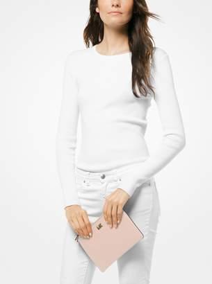 MICHAEL Michael Kors Medium Leather Convertible Pouch