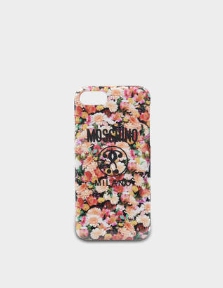 Moschino Iphone 8 Cover in Multicolour PVC