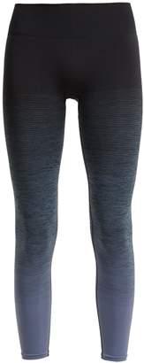 PEPPER & MAYNE High-rise ombré compression performance leggings