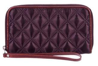 Marc by Marc Jacobs Marc Jacobs Metallic Quilted Wallet