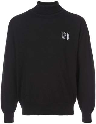 Enfants Riches Deprimes embroidered logo turtleneck jumper