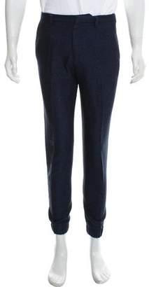 Kenzo Wool-Blend Tweed Joggers