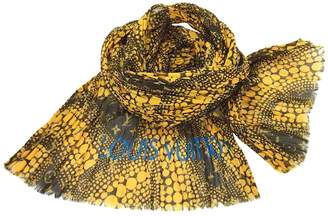 Louis Vuitton Yellow Cotton Scarves