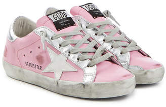 Golden Goose Super Star Leather Sneakers