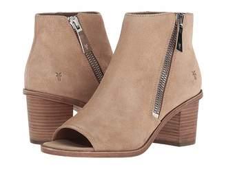 Frye Brielle Zip Peep Bootie Women's Boots