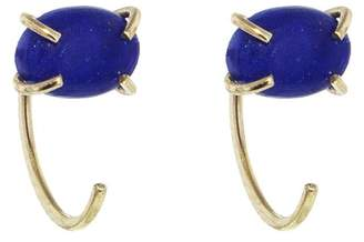 Melissa Joy Manning Lapis Hug Hoop Earrings - Yellow Gold