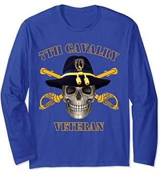 7th Cavalry - Seventh Cavalry Vets Long Sleeve T-shirt