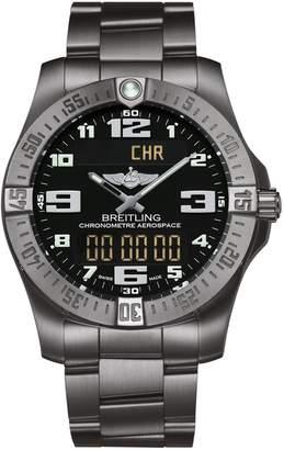 Breitling Titanium Professional Aerospace Evo Watch 43mm
