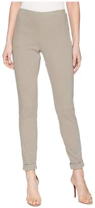 Tribal Stretch Twill 28 Pull-On Flatten Leggings with Cuff Women's Casual Pants