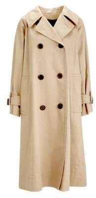 Marc Jacobs Women's Oversized Trench Coat - Beige - Size XS