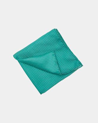 Oxford Pocket Square Silk Spot