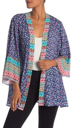 Laundry by Shelli Segal Printed Kimono