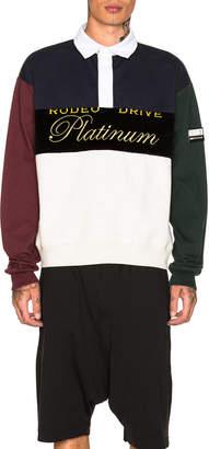 Alexander Wang Platinum Rugby Jersey