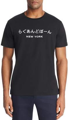 Rag & Bone New York Japan Crewneck Tee
