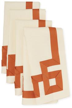 Ann GishMariana Key Linen Napkins (Set of 4)