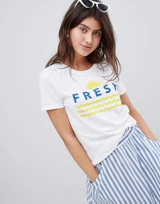 Only Slogan T-Shirt