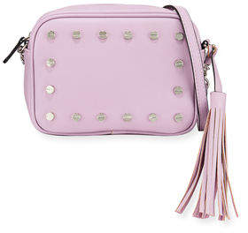 Neiman Marcus Cori Studded Crossbody Bag