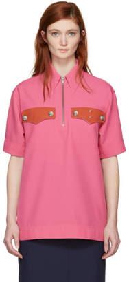Calvin Klein Pink Western Pocket Shirt