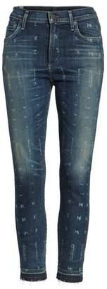 Women's Citizens Of Humanity Rocket Release Hem Crop Jeans