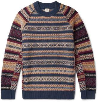 Kent & Curwen Fair Isle Wool-Blend Sweater