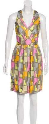Milly Silk Printed Dress