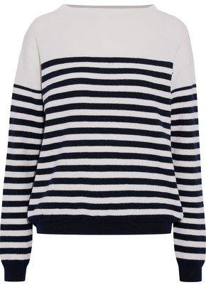 MiH Jeans Margot Striped Merino Wool Sweater
