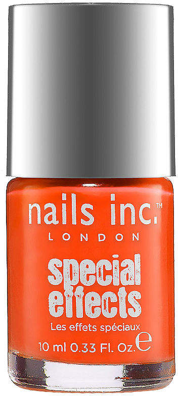 Nails Inc Special Effects Neon Crackle Top Coat | TINTED