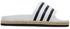 adidas Striped Rubber Slides