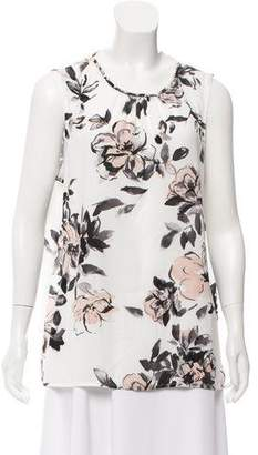 Karl Lagerfeld Sleeveless Floral Top