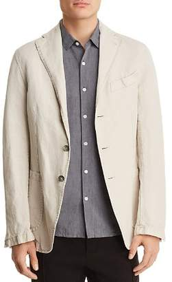 Eidos Garment Washed Cotton Regular Fit Sport Coat