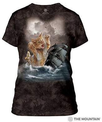 The Mountain Krakitten Adult Woman's T-Shirt