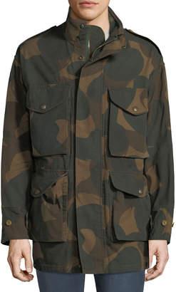 Burberry Men's Camo Field Jacket