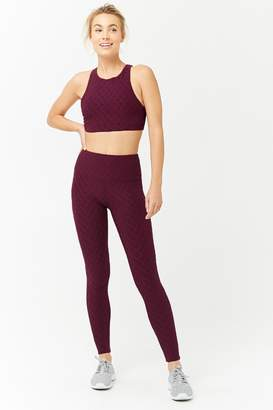 Forever 21 Active Textured Knit Leggings