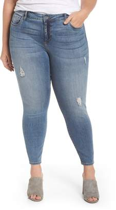 KUT from the Kloth Donna High Waist Ankle Skinny Jeans