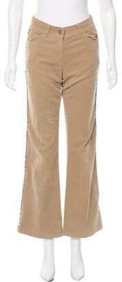 Burberry Corduroy Wide-Leg Pants