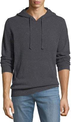 Neiman Marcus Men's Marled Cashmere Hoodie