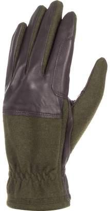 Barbour Rugged Melton Wool Mix Glove - Men's