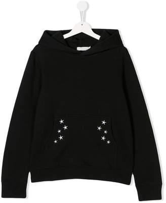 Stella McCartney TEEN embroidered hoodie