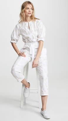 Rebecca Taylor Eyelet Jumpsuit