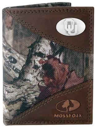 Kohl's Zep-Pro Oklahoma Sooners Concho Mossy Oak Trifold Wallet